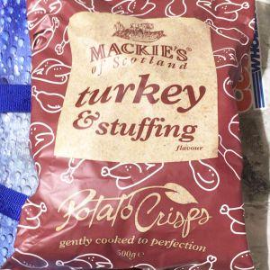 マッキーズ ターキー & スタッフィング ポテト クリスプ