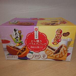菓子庵 丸京 どら焼きバラエティパック 4個入り×6パック