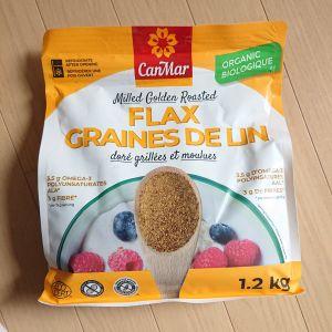canmarfoods GOLDEN ORGANIC FLAX有機ローストアマニ(粉末)1.2kg