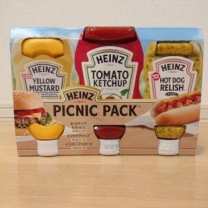 ハインツ ピクニックパック HEINZ PICNIC PACK 3P
