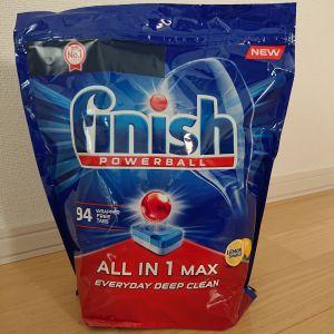 フィニッシュ パワーボール オールインワンMAX タブレット94個入 食器洗浄器用洗剤