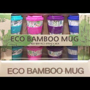 エコ バンブーカップ 4PC