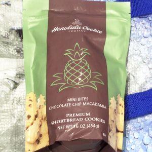 ホノルルクッキー ミニバイツチョコレートチップマカダミアクッキー