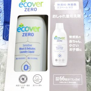 エコベール 洗濯洗剤 デリケートウォッシュ/ランドリー濃縮タイプ