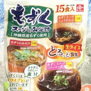 永井海苔 もずくスープ&みそ汁 バラエティパック15食