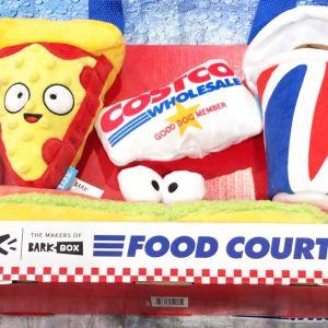 BARK COSTCO FOOT COURT ペット用おもちゃ4個セット